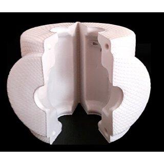 Tapa aislante Ekatherm-FL para válvulas de asiento recto y válvulas de bola