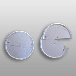 Plaque dextrémité en tôle, galvanisée